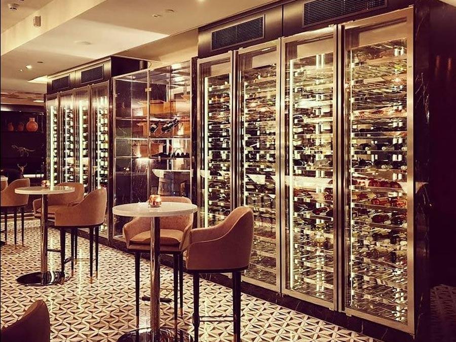 Sheraton Hotel Tiflis Şarap Dolabı